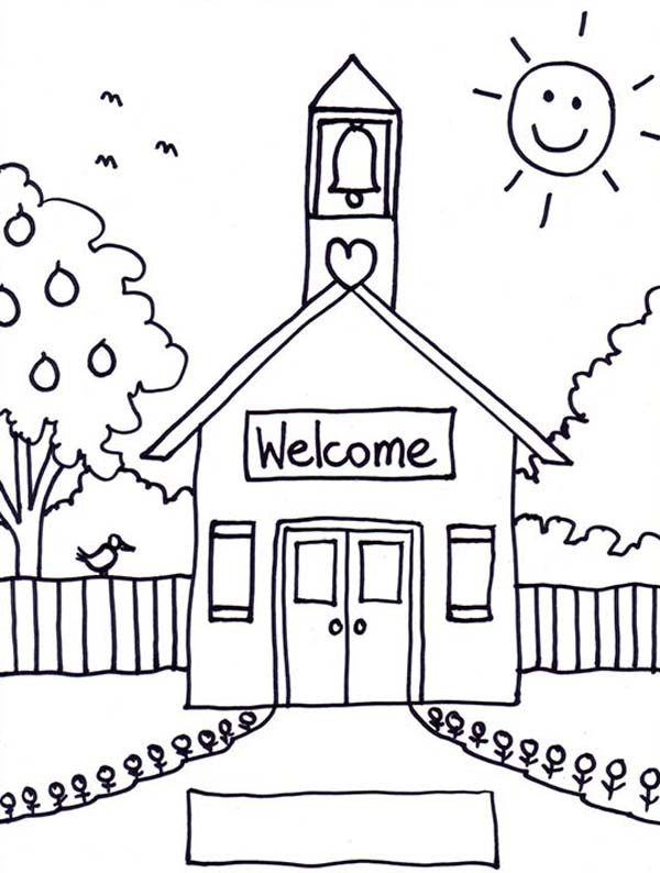 school-house-coloring-pages