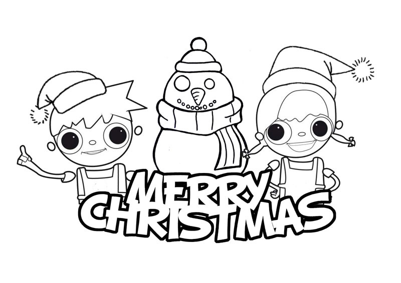 free printable christmas cartoon coloring pages - merry christmas coloring pages