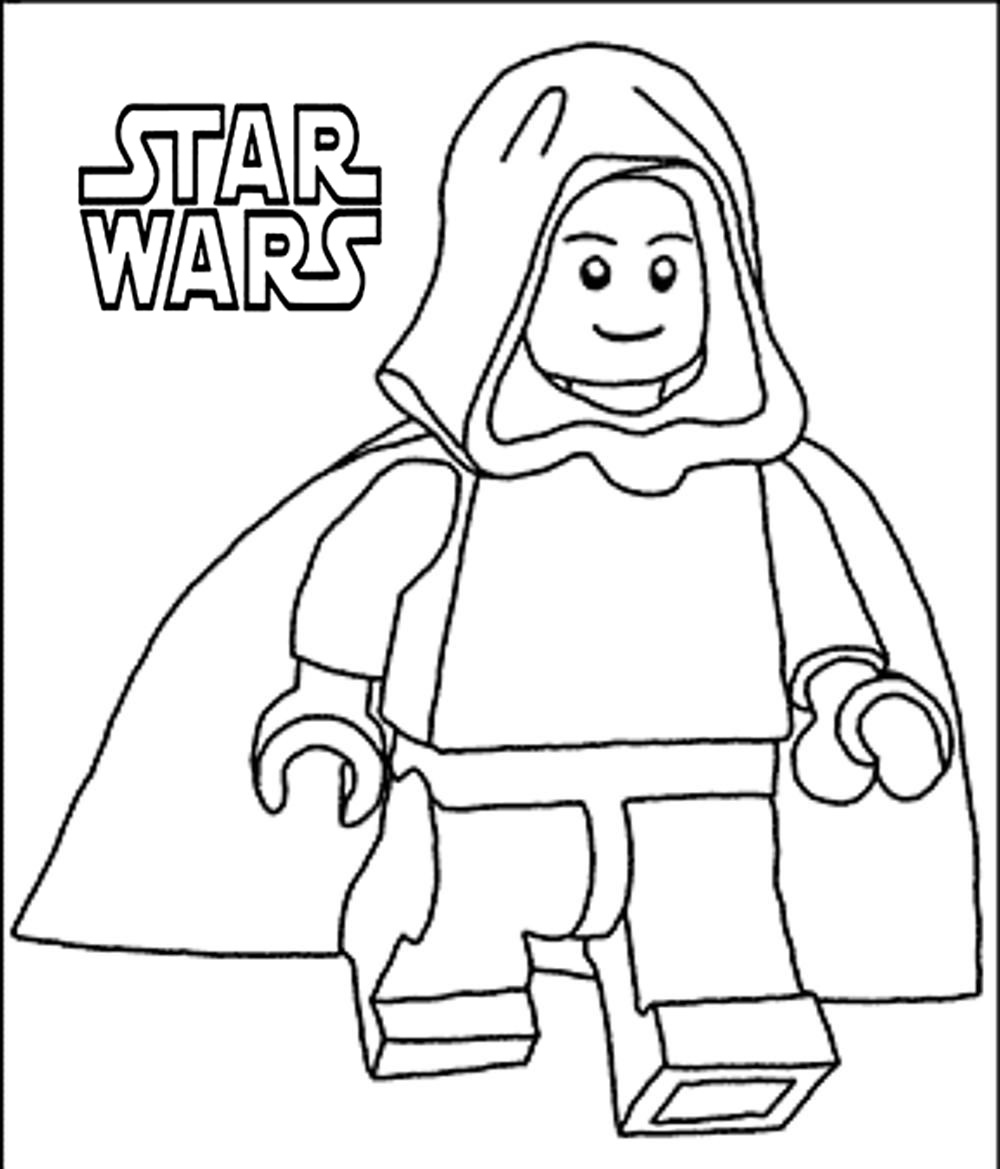 50 Top Star Wars Coloring Pages line Free