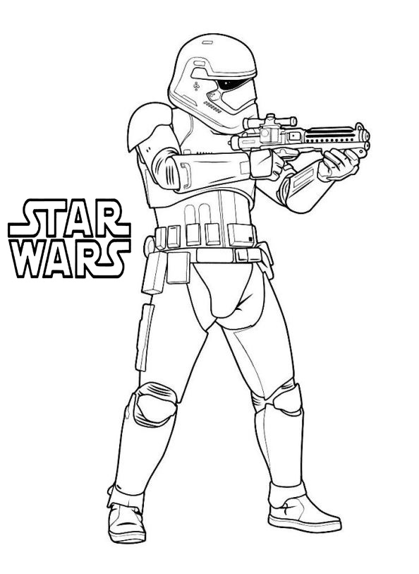 Star Wars Coloring Pages Stormtroop