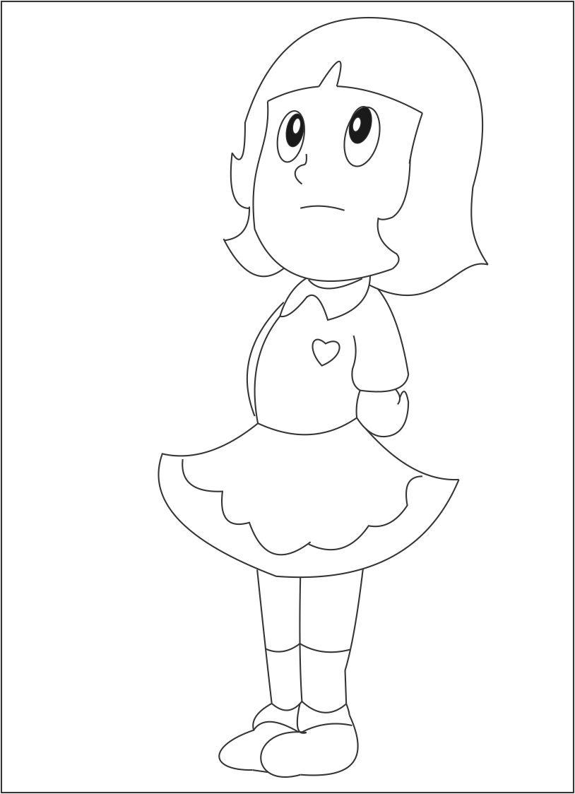 Yumiko Coloring Page