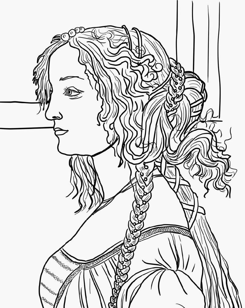 Art Coloring Pages For Adults Printable