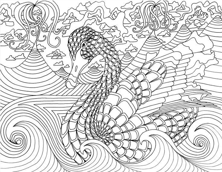 Art Coloring Pages For Adults To Print