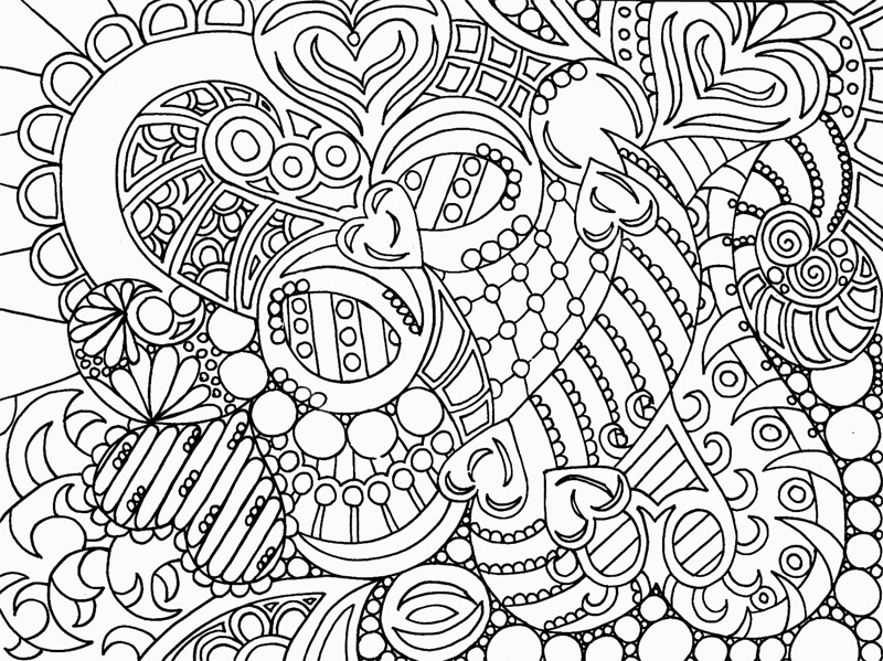 Coloring Pages For Adults Abstract Free