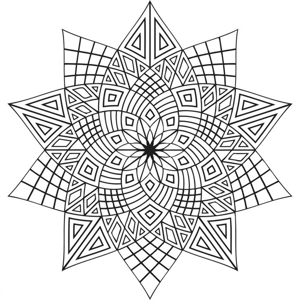 Coloring Pages For Adults Patterns