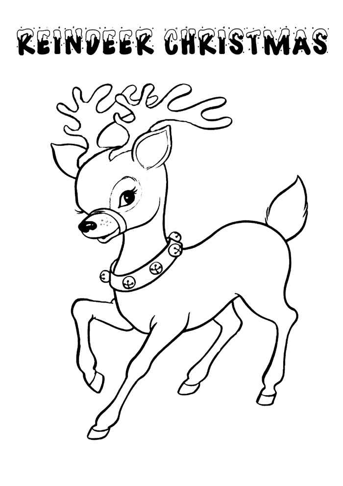 Coloring Pages For Toddlers Christmas
