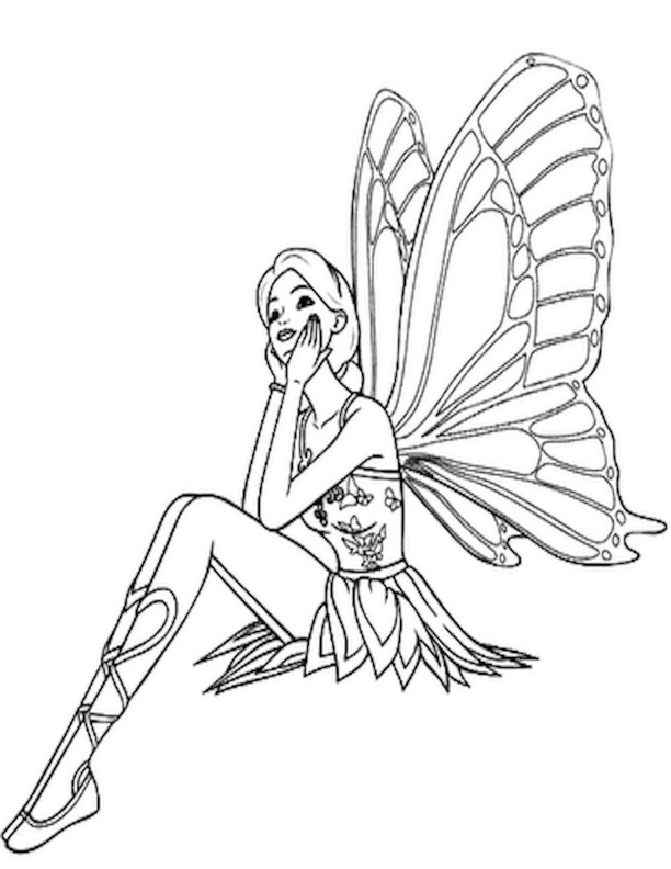 Difficult Coloring Pages Fairies