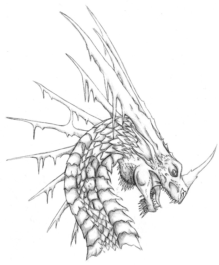 Dragon Coloring Page