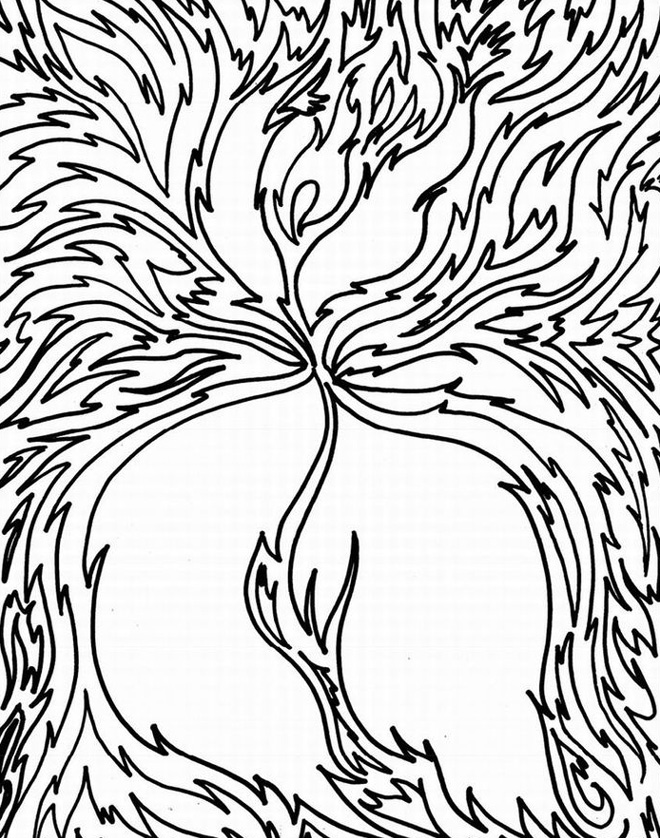 Fun Coloring Pages For Adults Abstract