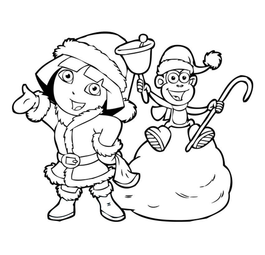 Girl Coloring Pages