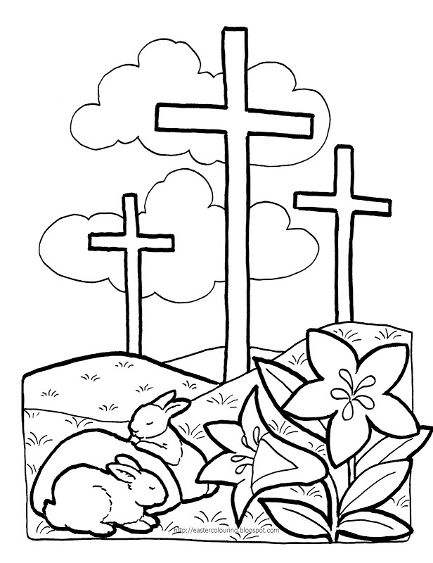 Sunday School Coloring Pages For Toddlers