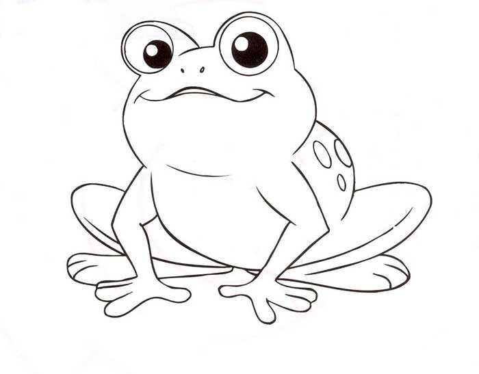 Frog Coloring Pages To Print