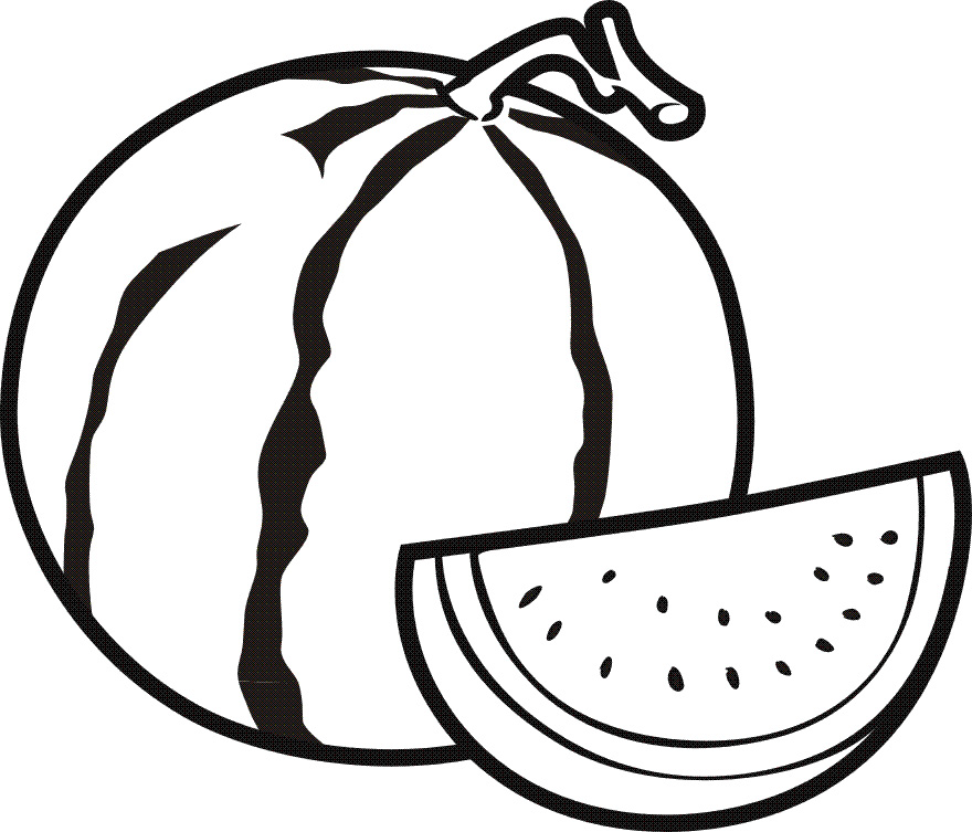 Fruits Coloring Pages For Kids To Print Out