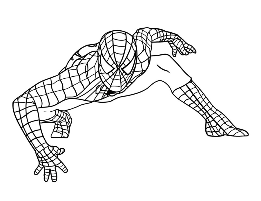Spiderman Coloring Pages Free PrintableSpiderman Coloring Pages Free Printable