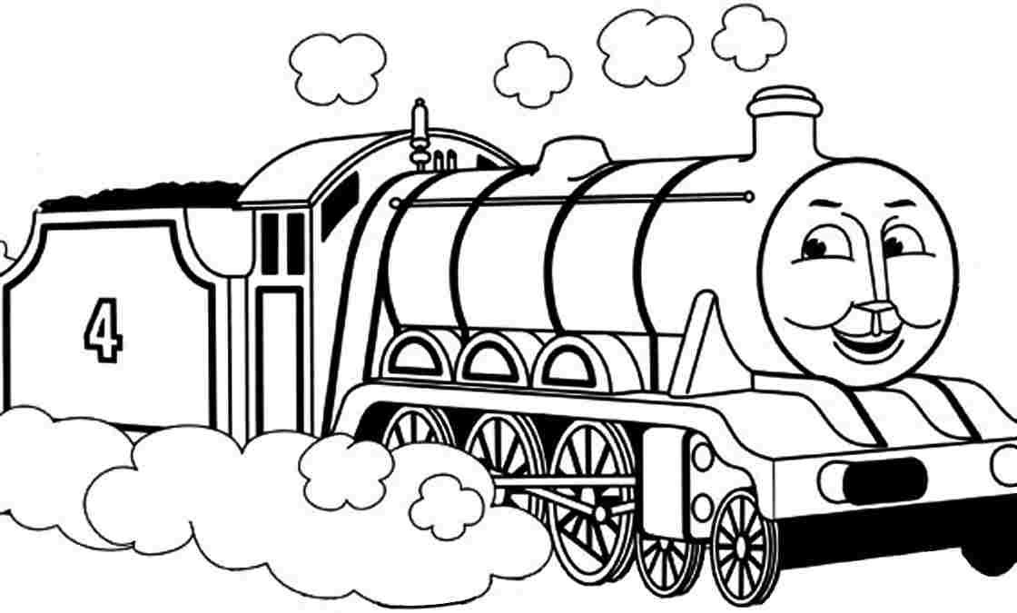 Thomas Trains Coloring Pages