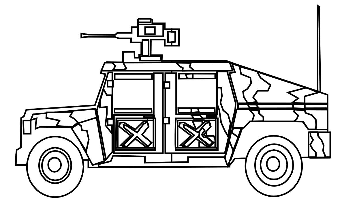 free army coloring pages - photo#26