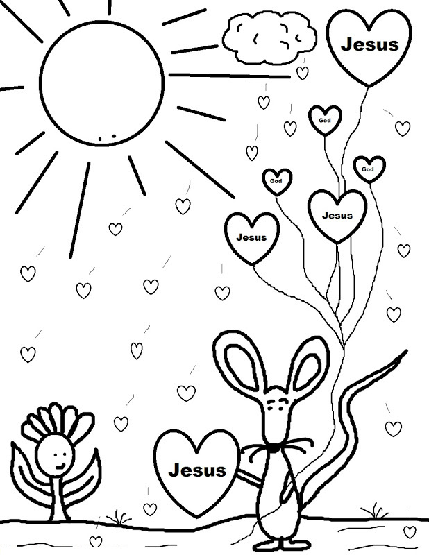 15 Wonderful Christian Coloring Pages