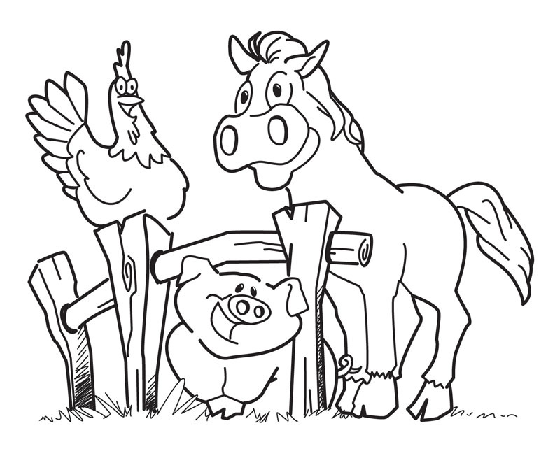 Free Printable Jungle Animal Coloring Pages