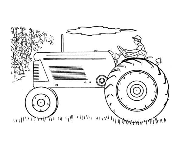 case international tractors coloring pages - photo#36