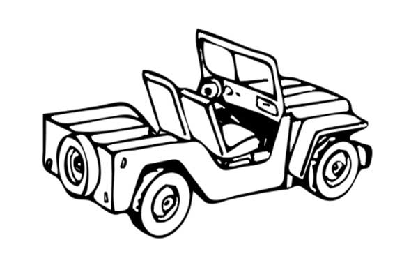 Jeep Wrangler Coloring Pages