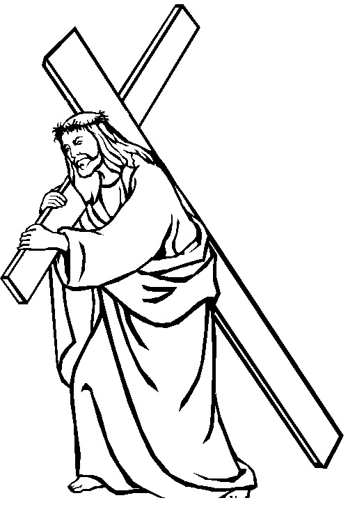Jesus Christ Coloring Pages