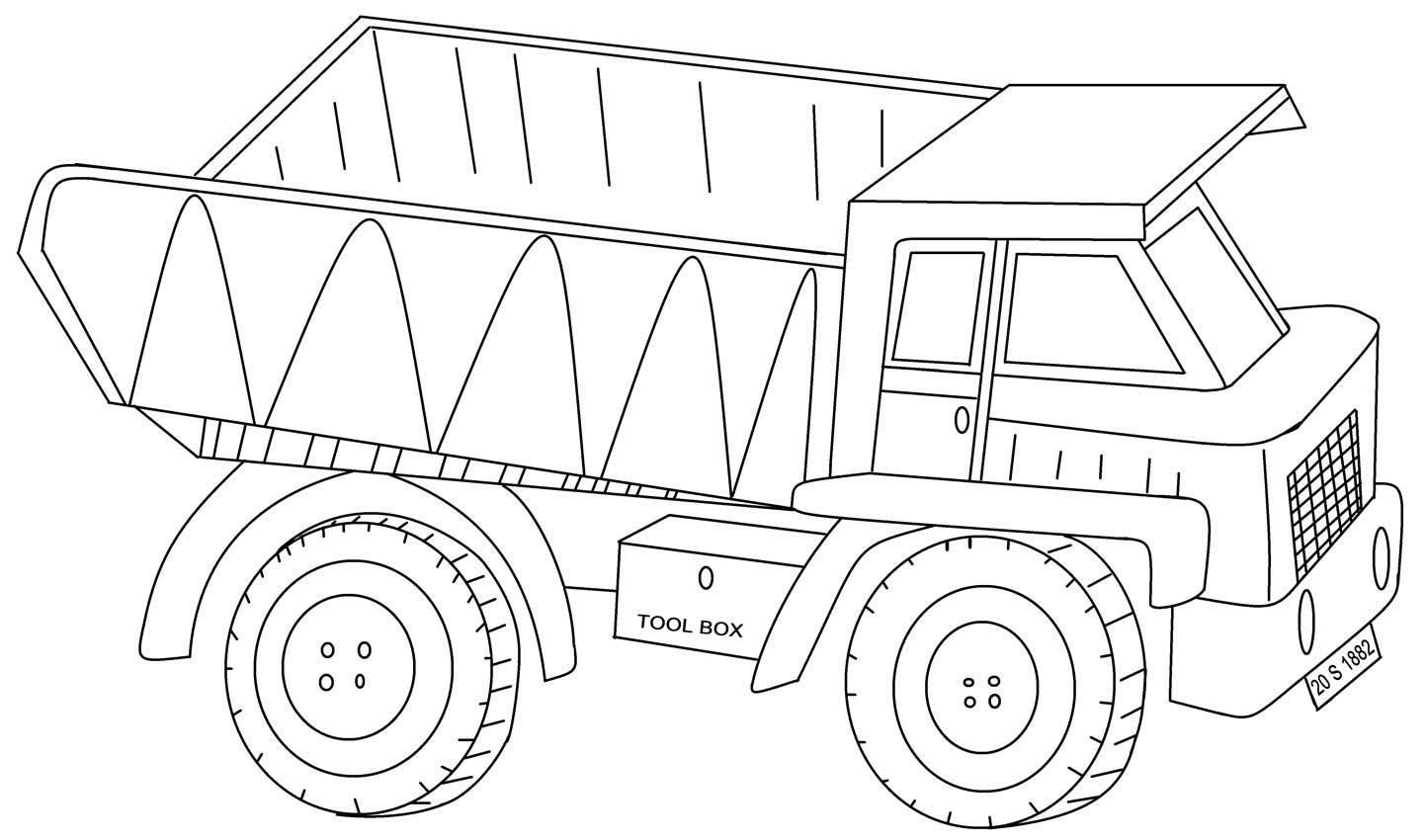 Kenworth Truck Coloring Pages