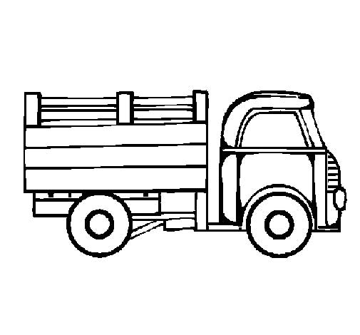 40 Free Printable Truck Coloring