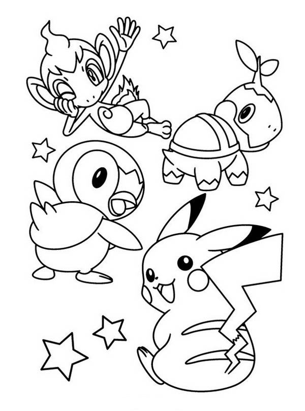 100+ Unique Pokemon Coloring Pages Free Download