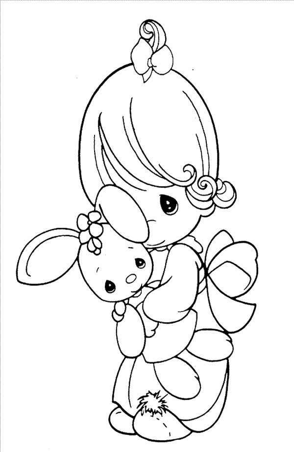 Precious Moments Coloring Pages Download