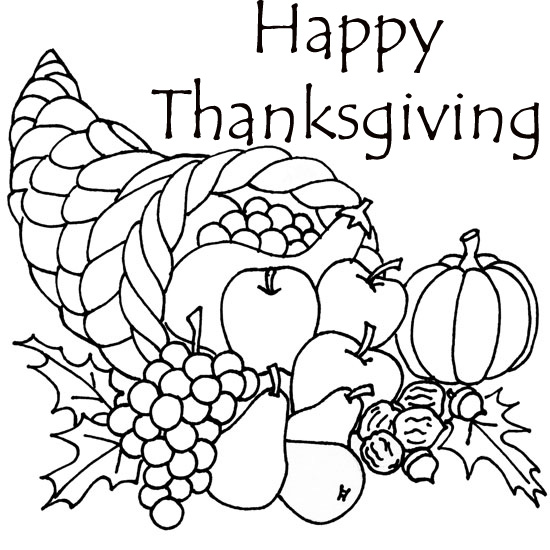 Thanksgiving Coloring Pages For Adults