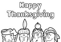 Thanksgiving Coloring Pages To Print Out