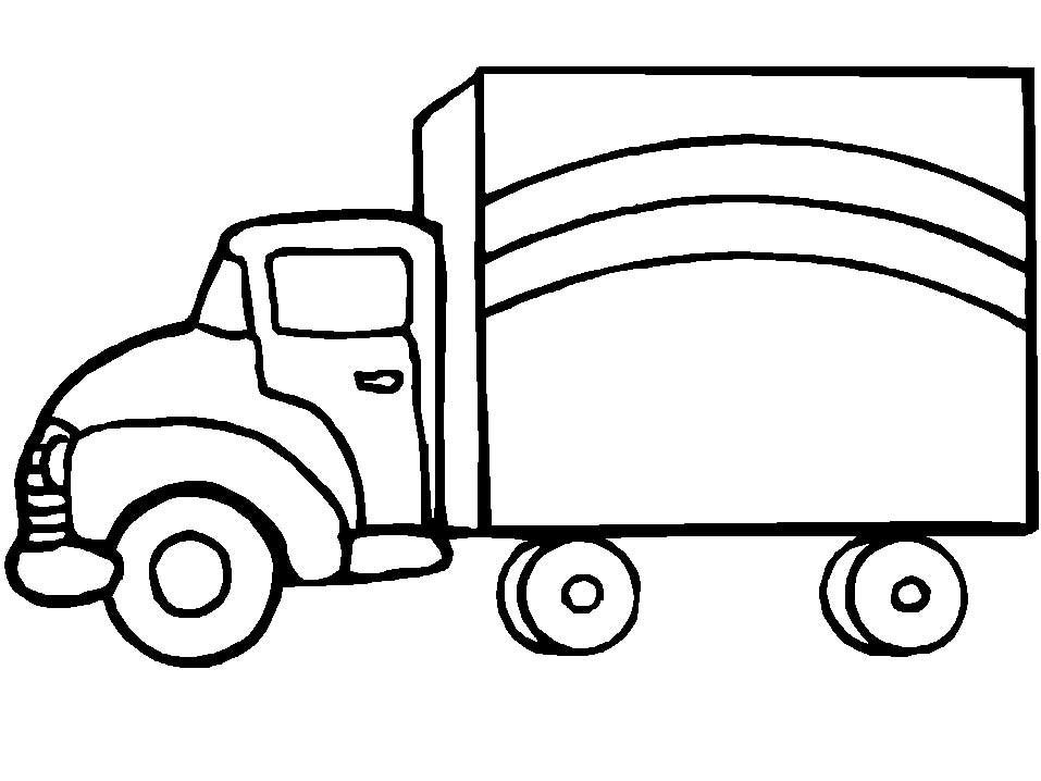 image regarding Printable Truck Coloring Pages known as 40 Totally free Printable Truck Coloring Internet pages Down load