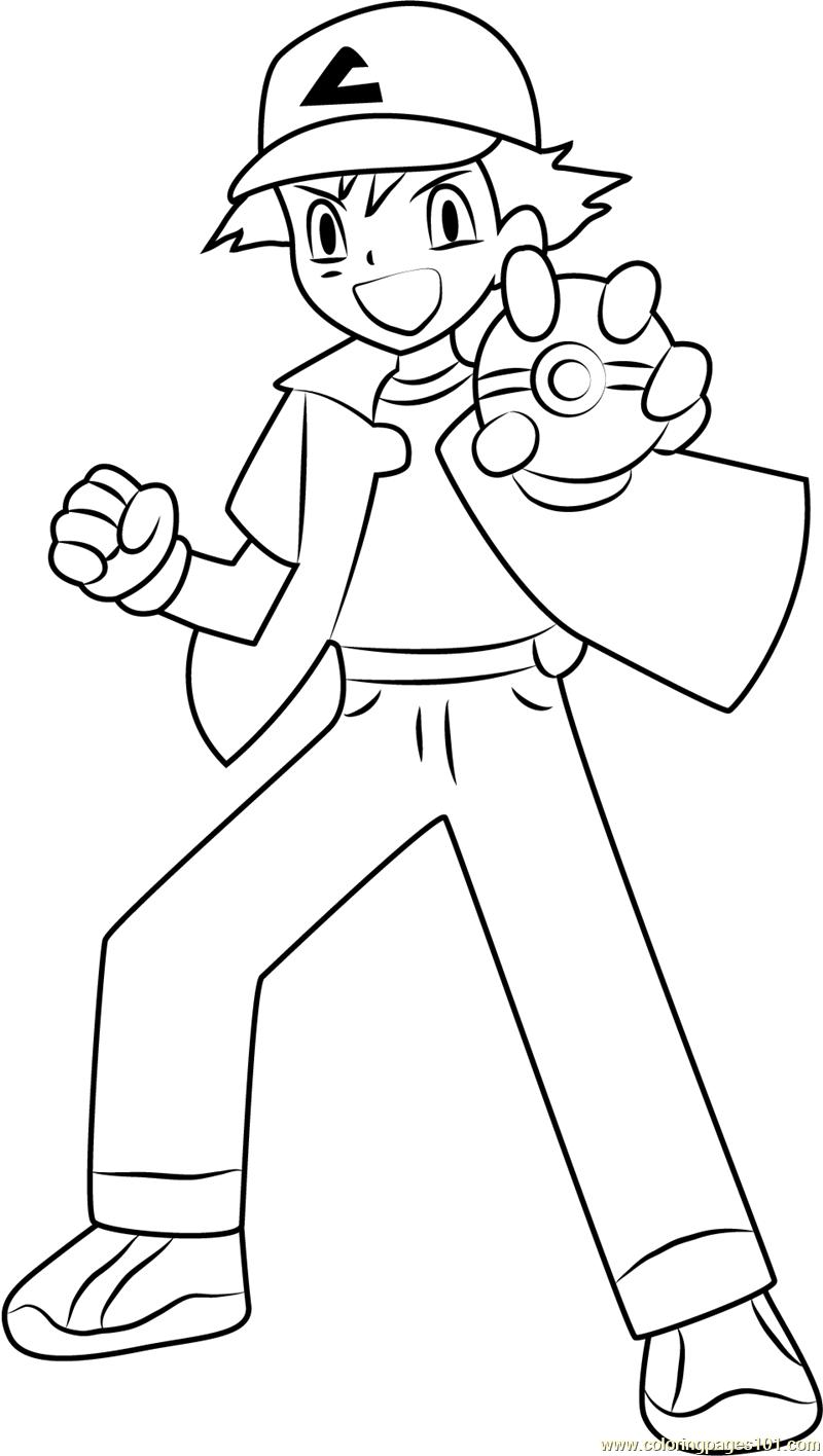 ash showing a poke ball
