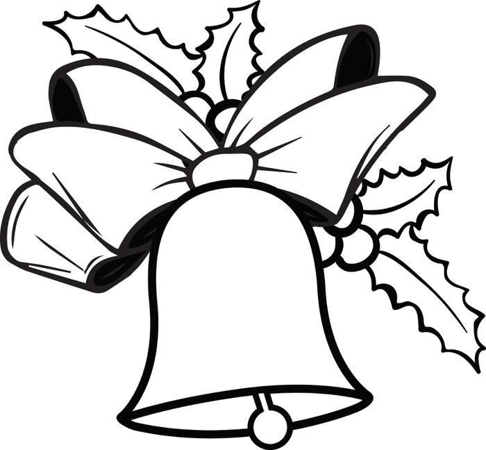 Christmas Bells Coloring PageChristmas Bells Coloring Page