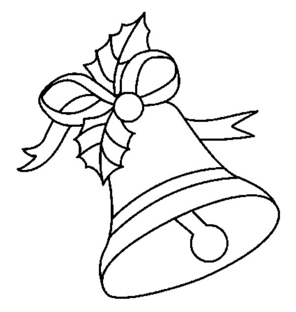 Christmas Bells Coloring Pages Download