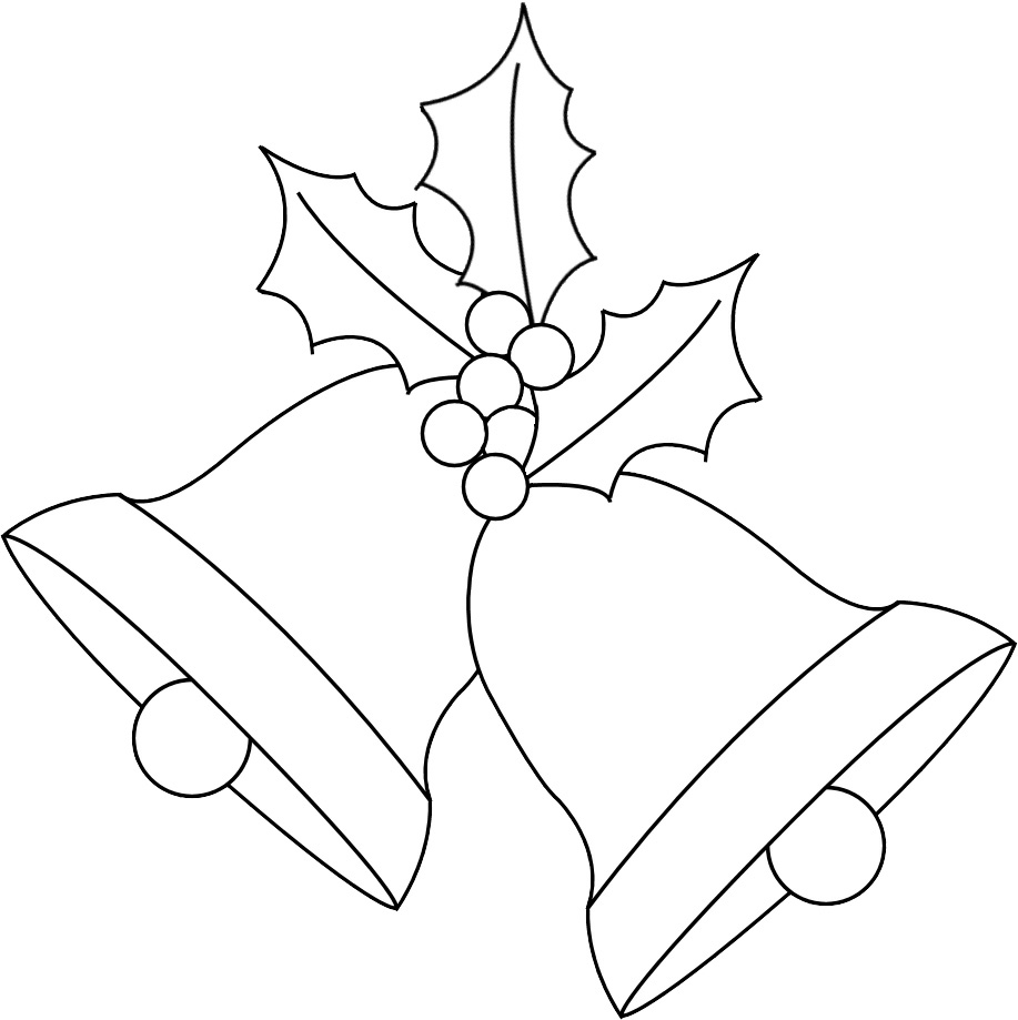Christmas Bells Coloring Picture