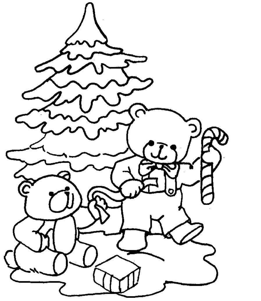 Christmas Coloring Pages Kids To Print Out