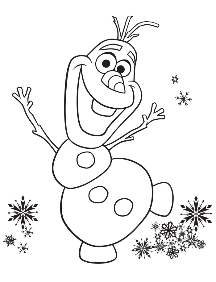 Disney frozen coloring pages to download - Coloriage olaf ...