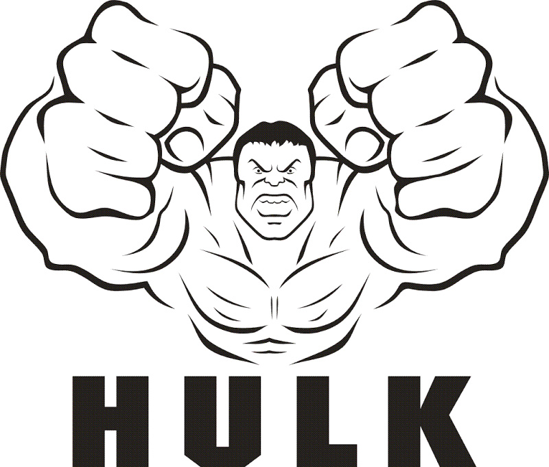 Hulk Coloring Pages Free
