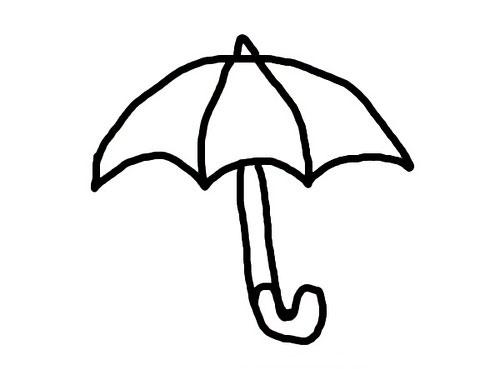 Umbrella Coloring Pages Print
