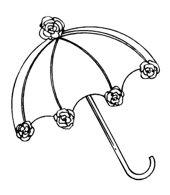 umbrella coloring pages | Umbrella Coloring Pages For Download