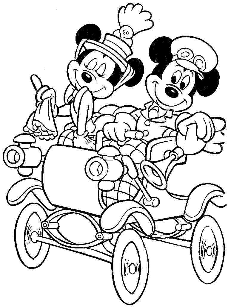 Mickey Mouse Coloring Pages Free to Print