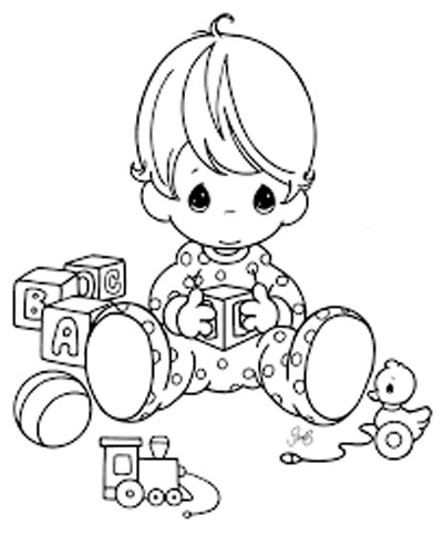 Baby Coloring Pages Printable