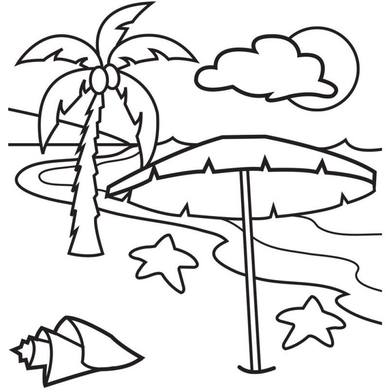 tropical-beach-coloring-pages