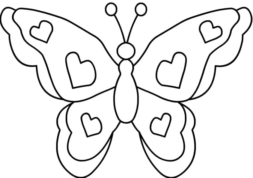 butterfly-coloring-pages-free