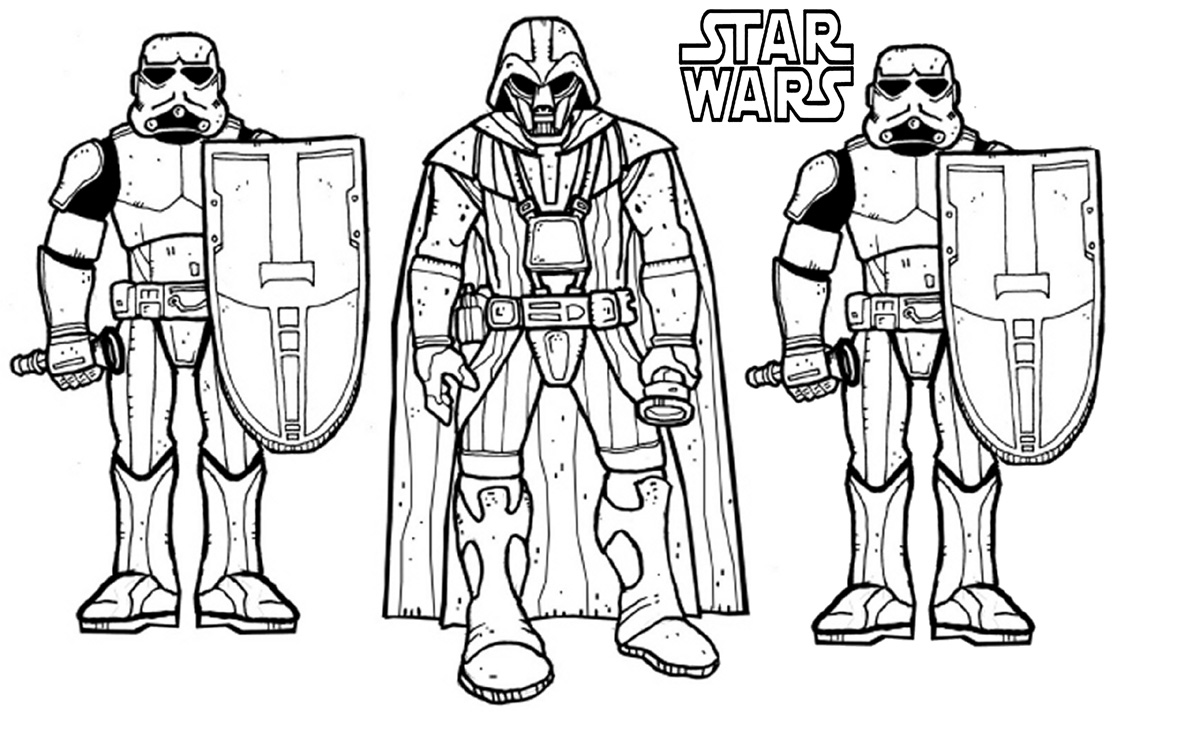 Star Wars Coloring Pages Clone Wars
