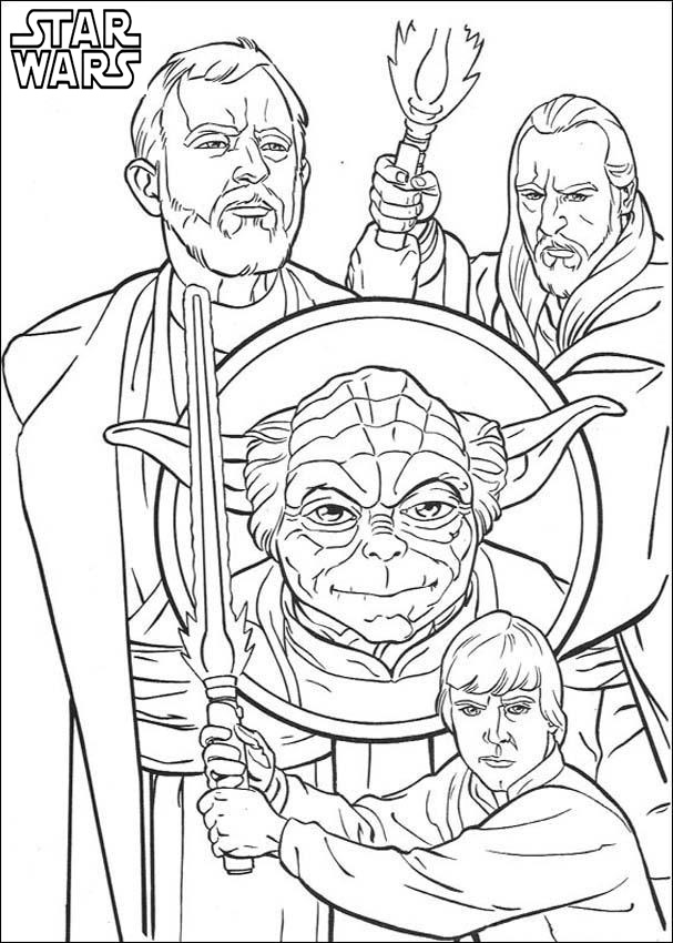 Star Wars Coloring Pages For Adult