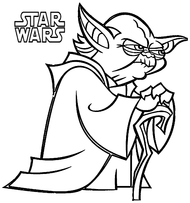 Star Wars Coloring Pages preschool