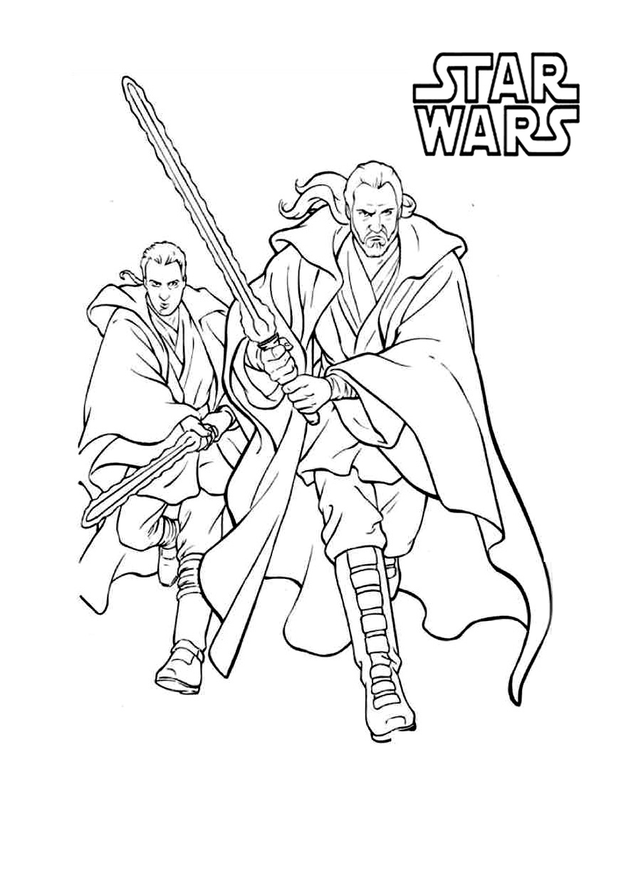 Star Wars Episode 1 Coloring Pages