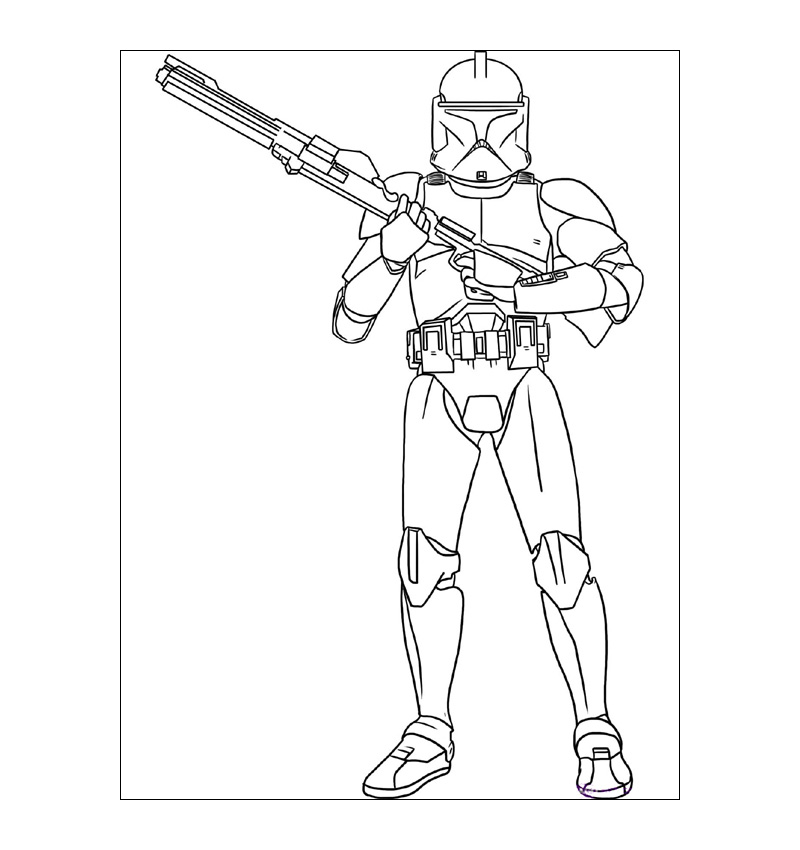 Star Wars Episode-7 Coloring Pages